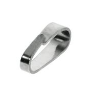 Small pendant bail 585/- white gold