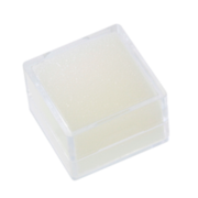 Display insert, white stuffing, 2.5 x 2.5 cm