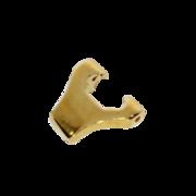 Omega ear clip lug 750/- yellow gold