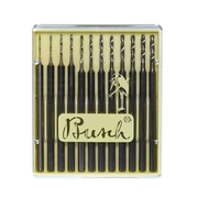 Twist-drill set TS, Busch (12 pcs.)