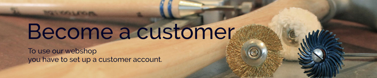 Become a customer at Aktiv Guld – set up an account for our webshop
